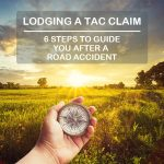 6 steps to lodge a TAC claim